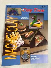Clay Time Mache Clay Crafts Book #153 Kids Projects Fun Vintage