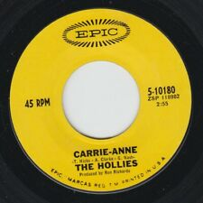 "The Hollies 7"" ""Carrie-Anne / Signs That Will Never Change"" Epic (10180), NM"