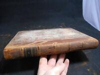 RARE Antique 1842 Civil Engineer Architects Journal Scientific Railway Gazette