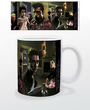 THE FIRST RULE THE ART OF JUSTIN 11 OZ COFFEE MUG FIGHT CLUB MOVIE FILM BOXING!!