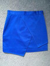 Lulu & rose koemi asymmetric cobalt blue mini skirt size XXS 6