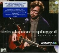 ERIC CLAPTON - UNPLUGGED 2 CD + DVD NEW+