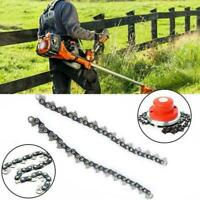 1Pair Coil 65Mn Chain Brushcutter Garden Grass For Lawn Mower-Trimmer Heads T0S7