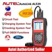 Autel AutoLink AL539 OBD2 Auto Scan Tool Diagnostic Code Reader I/M OBDII Test
