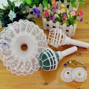 DIY Decoration With Lace Wedding Wedding Flower Holder Light Foam Bouquet Handle