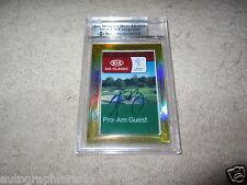 Aaron Rodgers James Jones 2014 Leaf Masterpiece Cut Signature auto card 1/1 JSA
