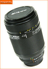 Nikon 70-210 mm F4-5.6 Zoom Lens Teleobiettivo autofocus + GRATIS UK