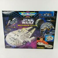 Micro Machines LARGE Star Wars Millennium Falcon Playset Galoob 1995 NEW SEALED