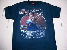 New: Licensed Rolling Stones Vintage Tour Rock Concert T-Shirt (Black)