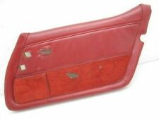 Corvette Original Passengers Side RH Interior Door Panel Red 1980-1982