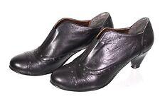 18d Alessandro bonciolini Escarpins bottines boots cuir noir taille 37 de Budapest