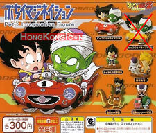 DRAGONBALL Dragon Ball Z Bandai Gashapon Petit Imagination Figures 1 Set A of 5