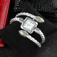 Stylish Gift Lady Women Girl Snake Style Bangle Bracelet Quartz Wrist Watch #h