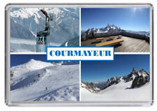 Courmayeur, Ski resort Italy Fridge Magnet