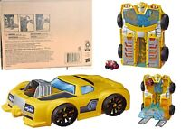 Playskool Transformers Rescue Bots Bumblebee Track Tower Robot Car Ages