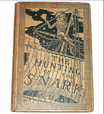 The Hunting Of The Snark! Lewis Carroll(Alice In Wonderland)First Edition! 1876!