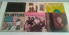 Lot 6 Jefferson Airplane Grace Slick LP Vinyl Records Surrealistic Pillow Worst