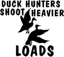 Car window decal truck outdoor sticker lol funny duck ducks hunter hunting