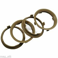 4x Centering Ring 2 3/8-2 7/32in Decent AEZ Dotz MIM Enzo for KIA DAIHATSU