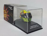 MINICHAMPS VALENTINO ROSSI MODELLINO AGV CASCO HELMET 1/8 MOTOGP QATAR 2014 NEW