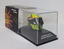 MINICHAMPS VALENTINO ROSSI MODEL AGV HELMET HELMET 1/8 MOTOGP QATAR 2014 NEW