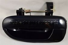 fits Hyundai Outside Exterior Door Handle Left Driver Side Rear Smooth Black