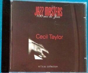 Jazz Masters 100 Años De Jazz Cecil Taylor Ref 1727