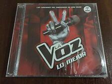 LA VOZ LO MEJOR - CD 20 TRACKS + DVD + CONTENIDO EXTRA 2012 - NEW & SEALED NUEVO