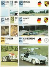 Photo Autopresse Car Card (Vintage) Joblot of 8 cards