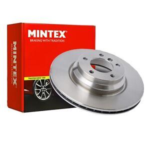 Front Brake Disc Single L/R Fits AUDI A4 B8 AVANT A5 Q5 Mintex MDC2001C