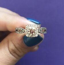 levian rose gold chocolate diamond ring