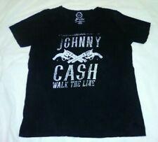Johnny Cash Walk The Line Black T-shirt XL Project Karma Singer Actor Author