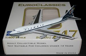 Aeroclassic OLYMPIC AIRWAYS BOEING 747-200 SX-OAA 1/400 scale model
