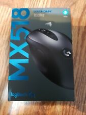 Logitech - G MX518 Wired Optical Gaming Mouse