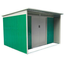 Habit Box Casetta in lamiera giardino esterno  zincata 340x398xh193cm DARREN F