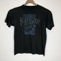Vintage Kingdom Come T-Shirt Rock Metal Tour Original Single Stitch Size Medium