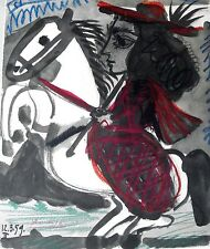 PABLO PICASSO - Toros y toreros. Ed. Cercle d´art - Edicion limitada - COA