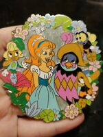 Disney Thumbelina And Jacquimo Friends Limited Edition 55 Fantasy Pin