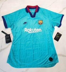 Nike Women's Barcelona Soccer Futbol 3rd Jersey SLIM-FIT Sz S - AT2516-310 NEW