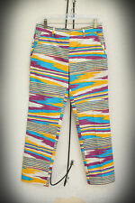 NWT MISSONI SPORT Pants Size 2/3/4 Detailed Design Upscale Resort Made in Italy