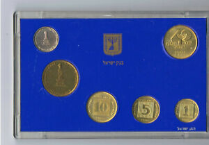"""1988 40th Anniversary Set """"40 Years to Israel"""" Mint Mark+bank of Israel Medal"""