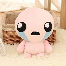 "10"" The Binding of Isaac Soft Plush Toy Doll Lovely Pink ISSAC Gift Pillow 25cm"
