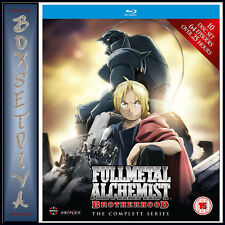 FULLMETAL ALCHEMIST BROTHERHOOD COMPLETE SERIES EPISODES 1 - 64  **BRAND NEW ***