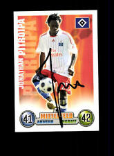 Jonathan Pitroipa Hamburger SV Match Attax CARD ORIGINALE FIRMATO + a 153800