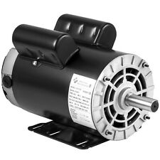 5 HP Air Compressor Duty Electric Motor 145T Frame 3450 RPM Single Phase VEVOR®