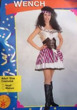 Rubies Pirate Wench Women Costume Adult Size Small & Med. Avail NIB