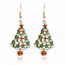 Christmas tree earrings pendant design - FREE SHIPPING