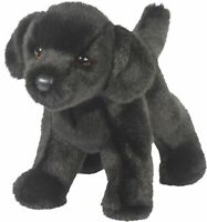 Douglas Bear BLACK LAB Dog Plush Toy Stuffed Animal NEW