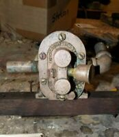 sherwood bronze gear pump, pedestal - SERVICED!