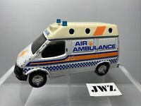 "Matchbox 4.6"" FORD TRANSIT Air Ambulance DIECAST Toy Car VINTAGE 1989 Superking"